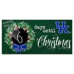 UK Christmas Countdown Sign