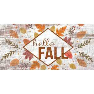 Hello Fall Sign
