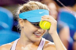Rising Tennis Star