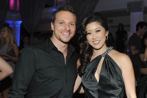 Bret Hedican and Kristi Yamaguchi