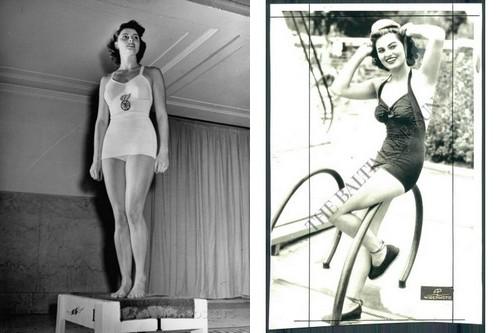 Gloria Callen Swimmer
