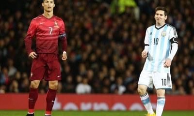 10 superstars played both Ronaldo and Messi