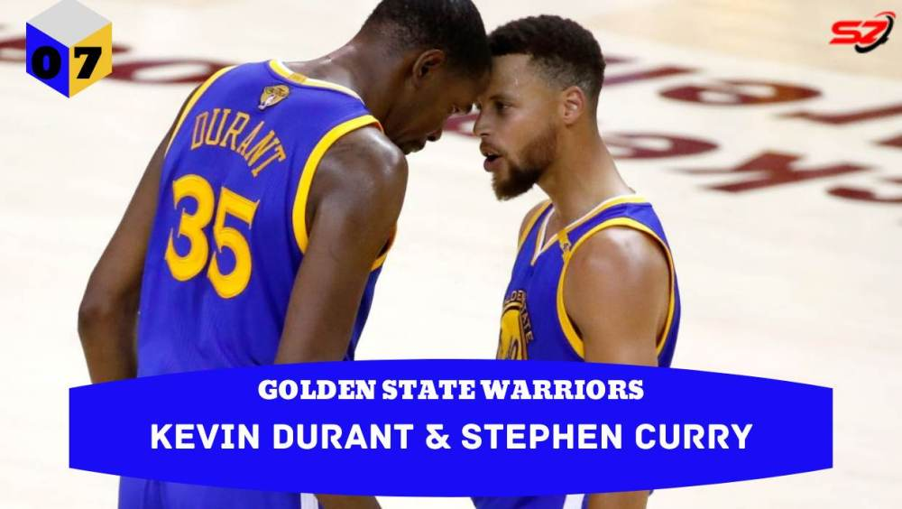 best dynamic duos of all time Kevin Durant & Stephen Curry