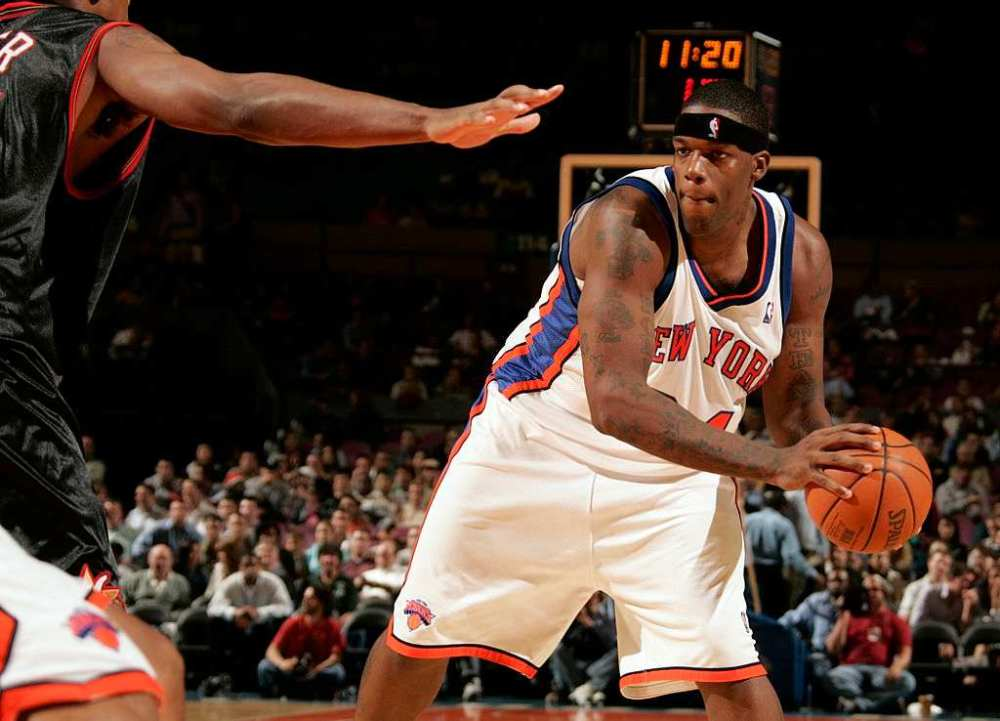 Eddy Curry one of the fattest player in NBA history