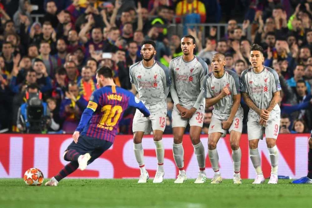 Goal machine Lionel Messi
