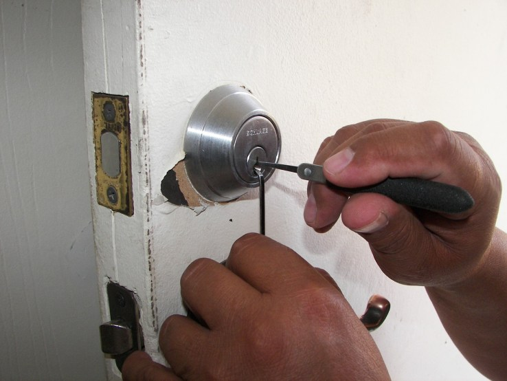 fixing the lock
