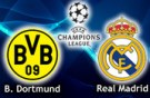 champions league: bor. dortmund vs. real madrid