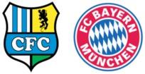 chemnitz - bayern münchen (1. runde im dfb-pokal 2017/2018)