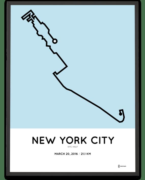 2016 NYC half
