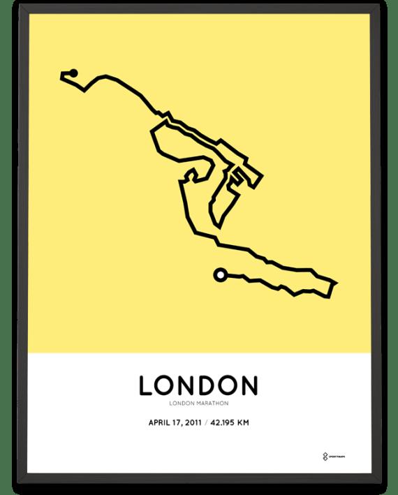 2011 London marathon