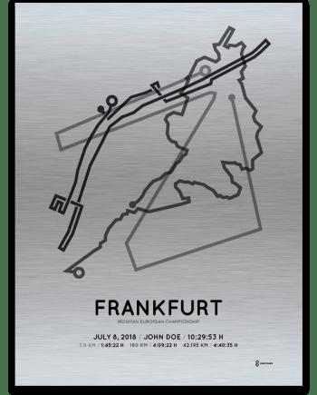 2018 Ironman Frankfurt aluminum print