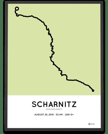 2018 Karwendelmarsch strecke poster