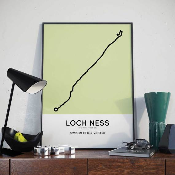 2018 loch-ness marathon course map print
