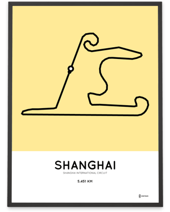 Shanghai International Circuit poster