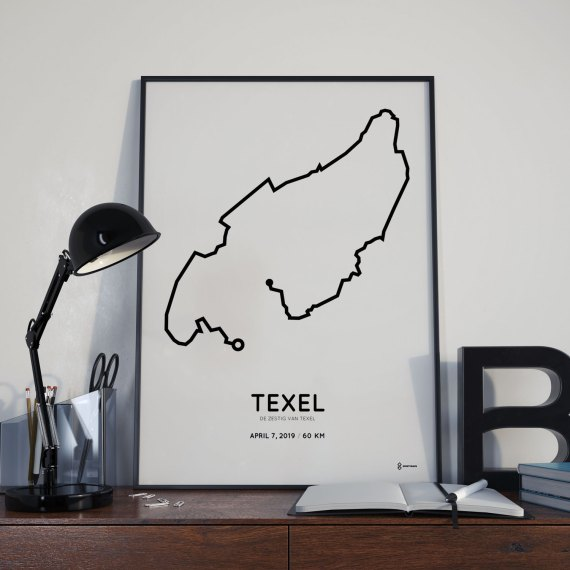 2019 De Zestig vanTexel course print
