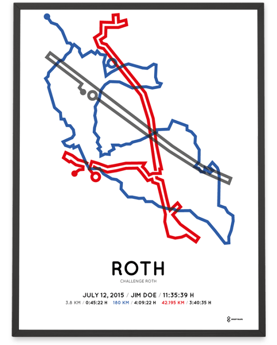 2015 Challenge Roth course poster