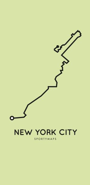 Sportymaps-NYC-marathon-green