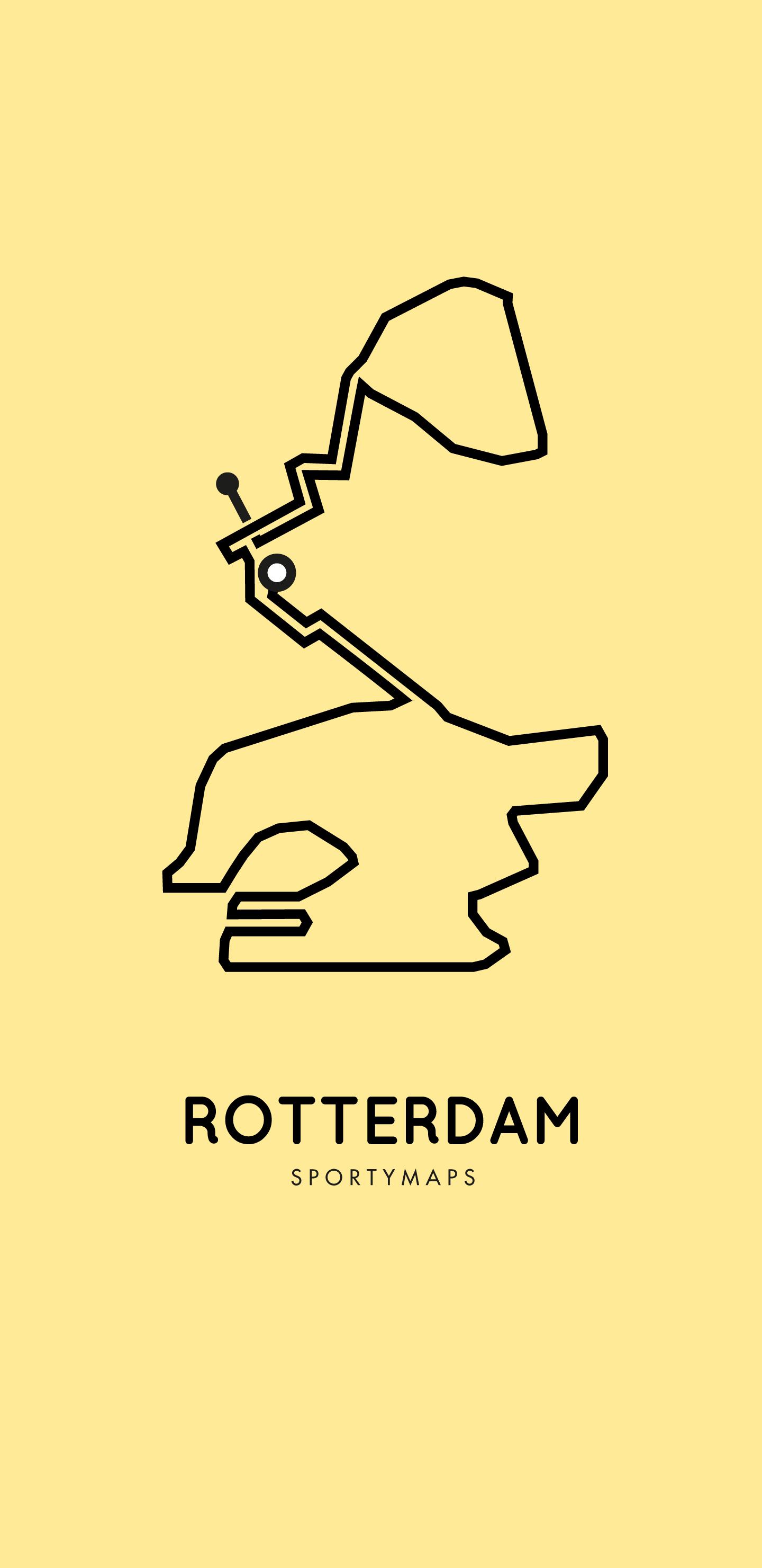Sportymaps-Rotterdam-marathon-yellow