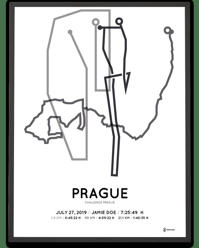 2019 Challenge Prague routemap print