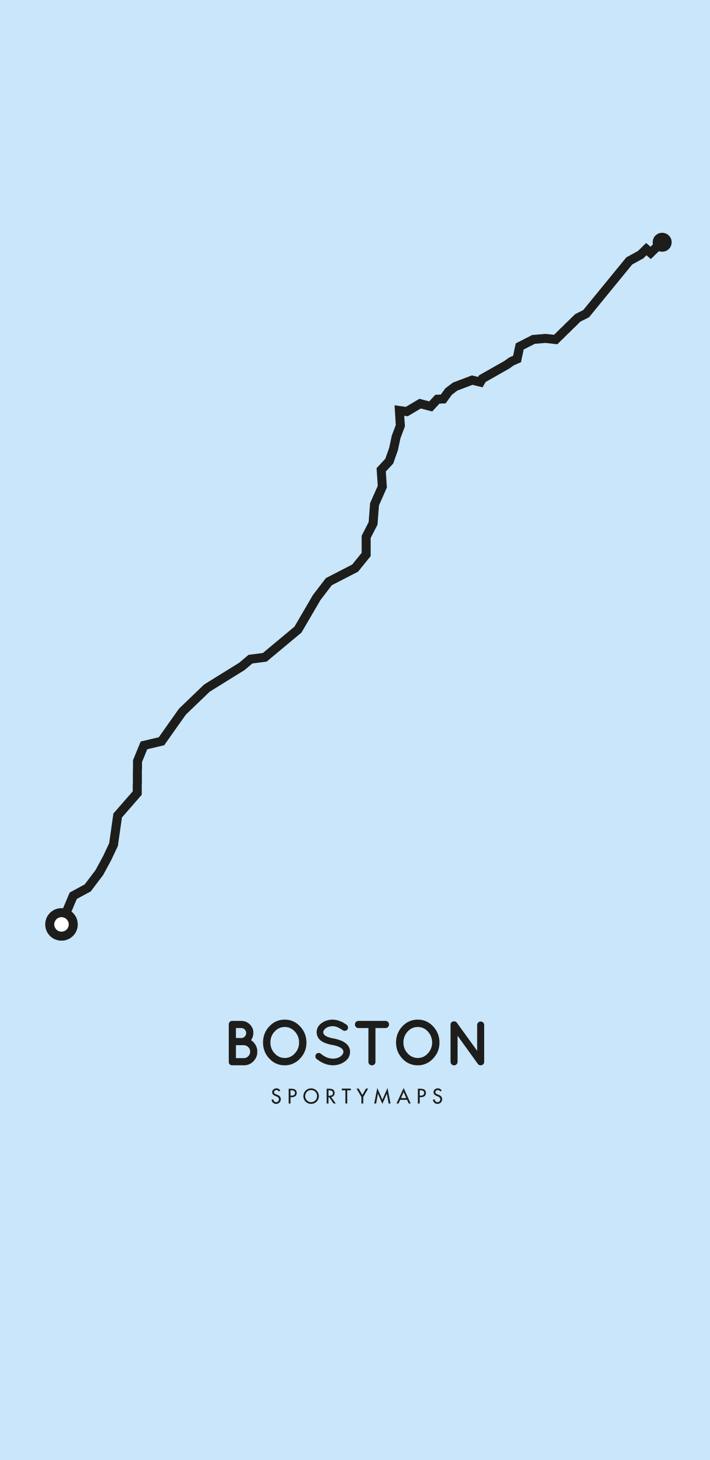 Sportymaps-Boston-marathon-blue