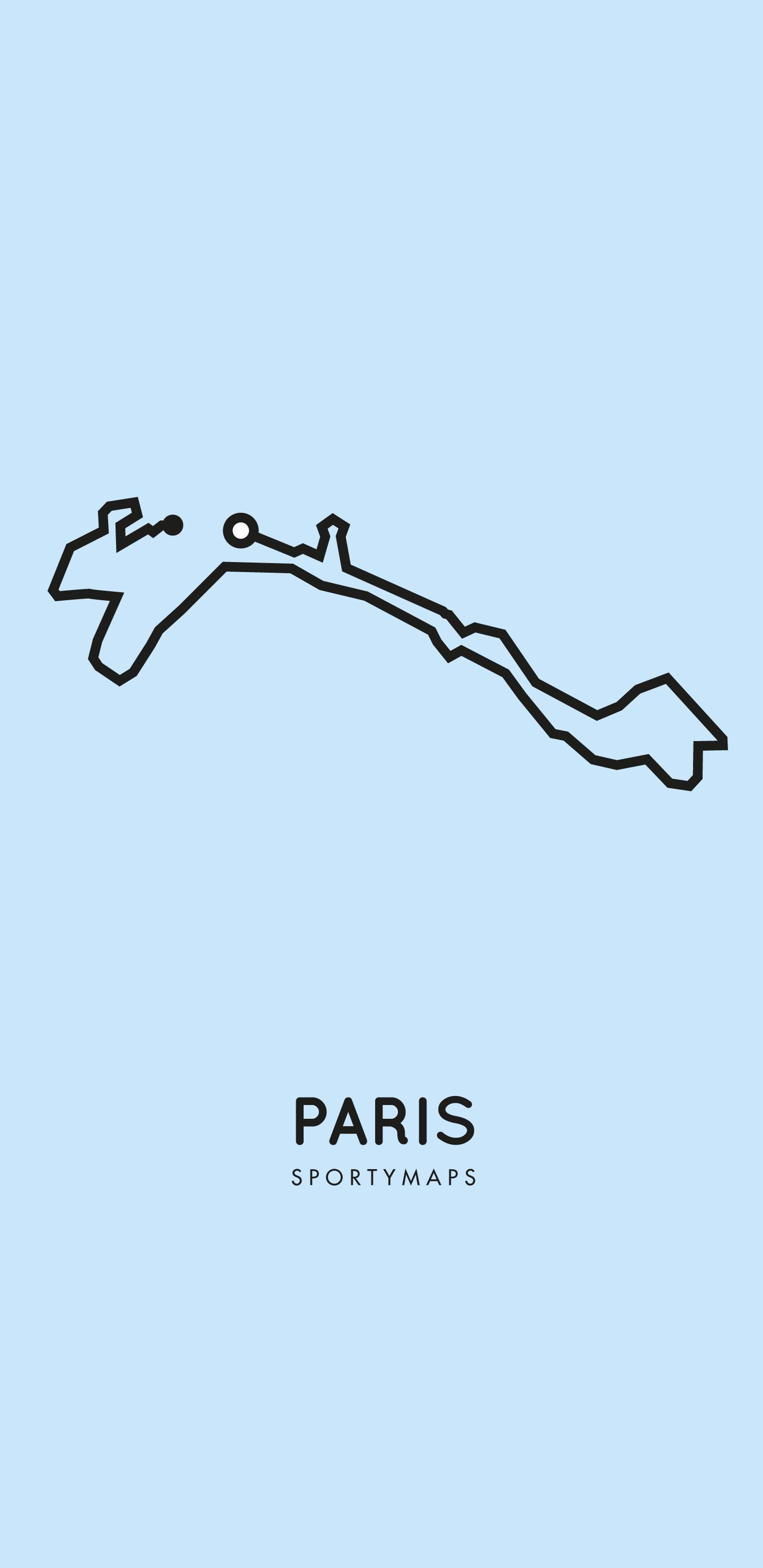 Sportymaps-Paris-marathon-blue