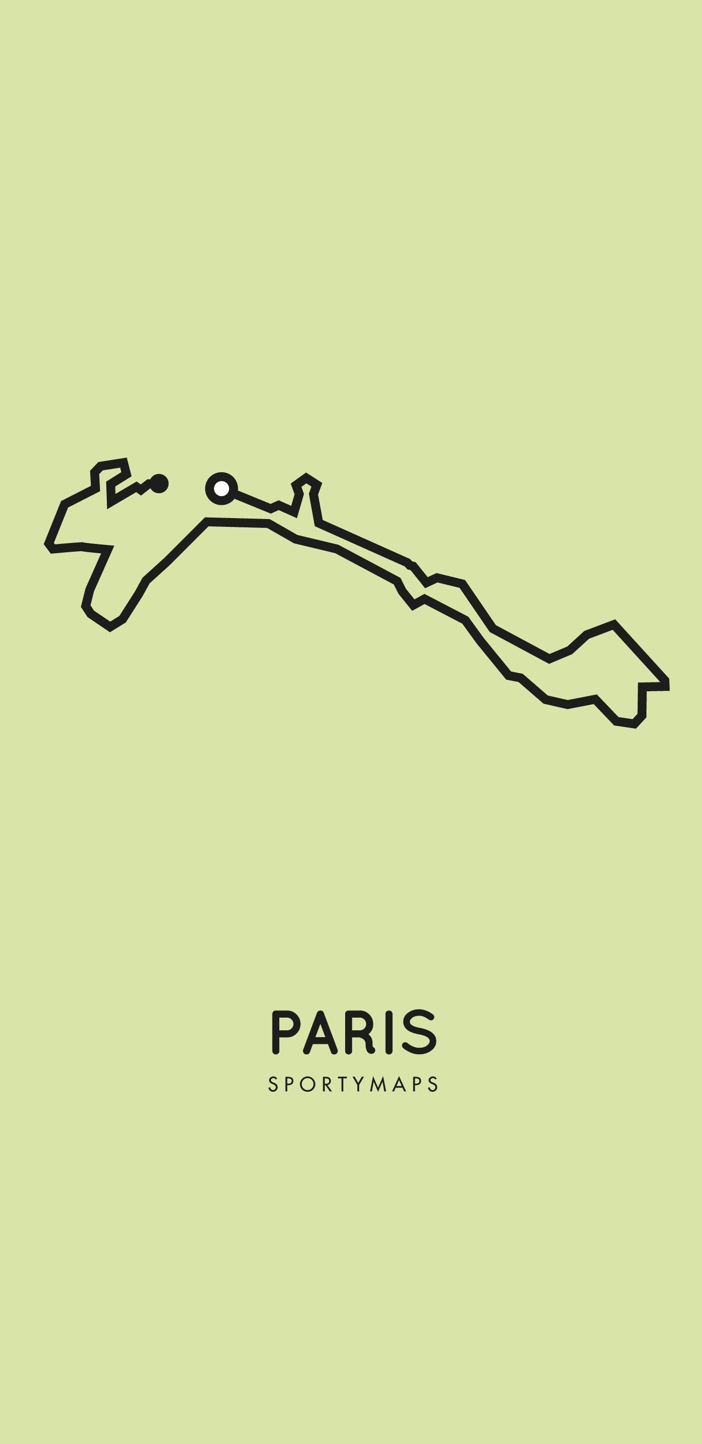 Sportymaps-Paris-marathon-green