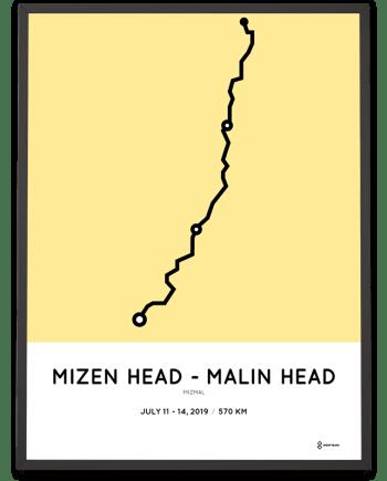2019 Mizen to Malin MizMal course poster