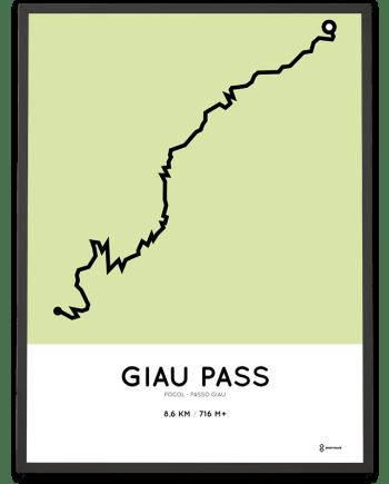 Giau Pass course poster Pocol