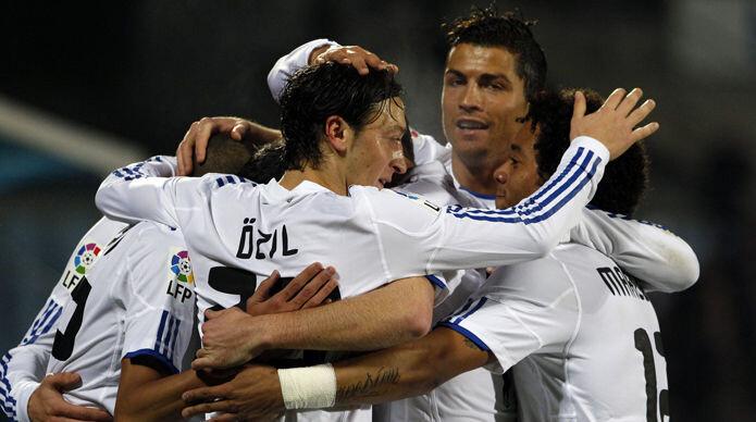 Las estrellas del Real Madrid celebrando un gol - SportYou.es