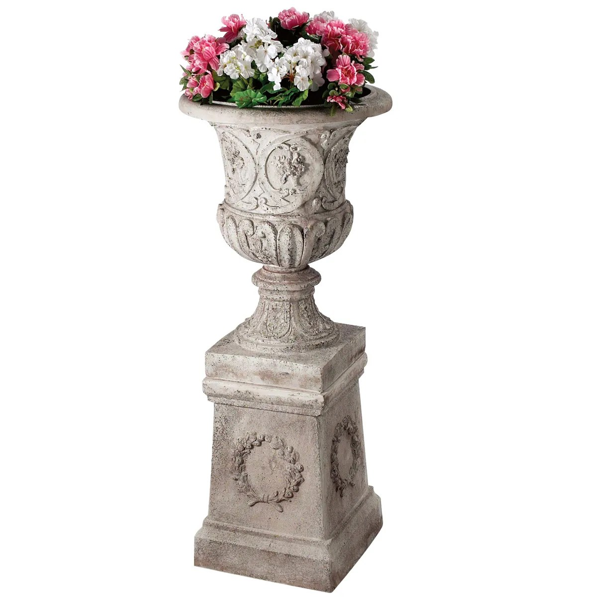 Urn And Pedestal Combo