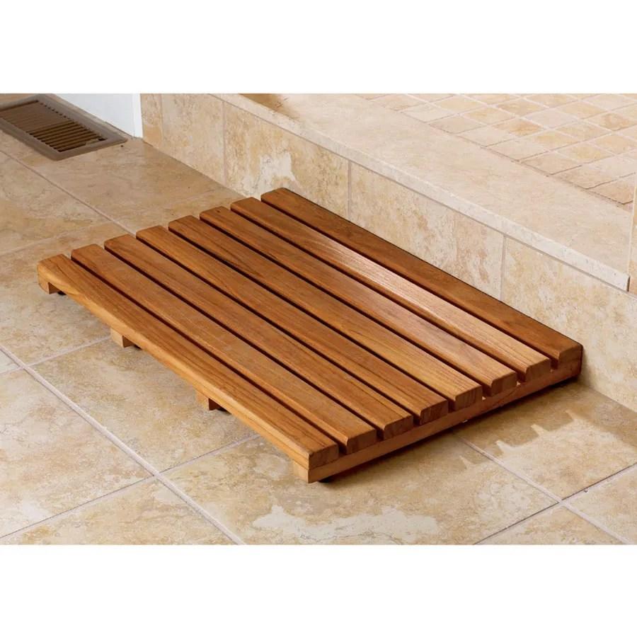 teak bath mat - from sportys preferred living