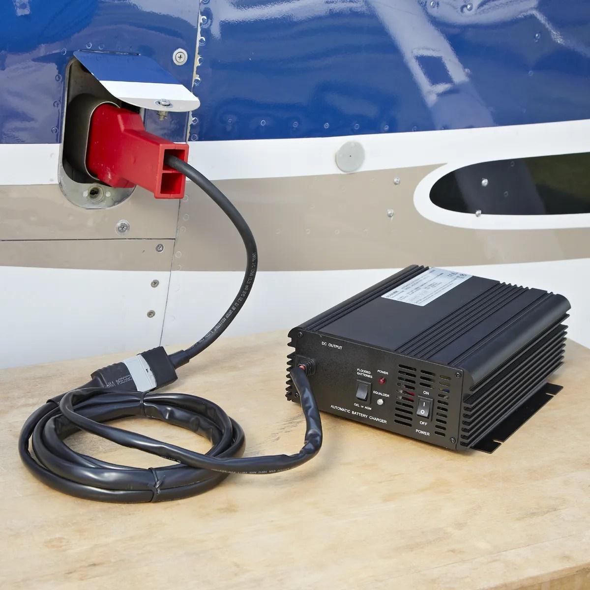 767 Battery Power Supply