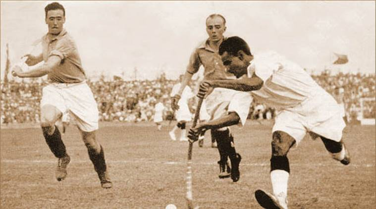 Major Dhyanchand in Olympics
