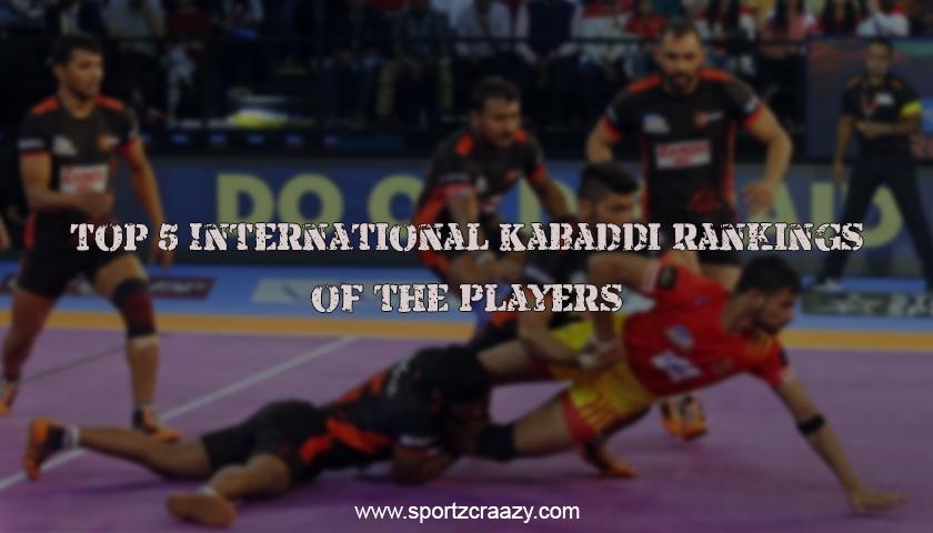 International Kabaddi Rankings