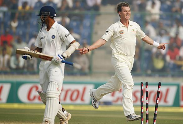 Rahul Dravid wicket