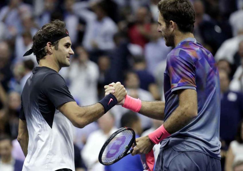 Del Potro vs Roger Federer