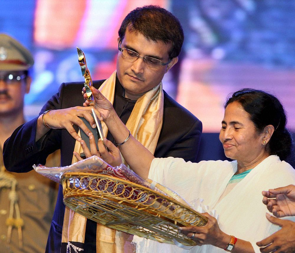 Sourav Ganguly Records, Awards and Achievements