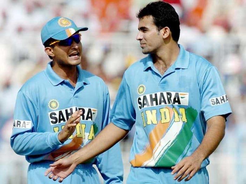 Sourav Ganguly and Zaheer Khan