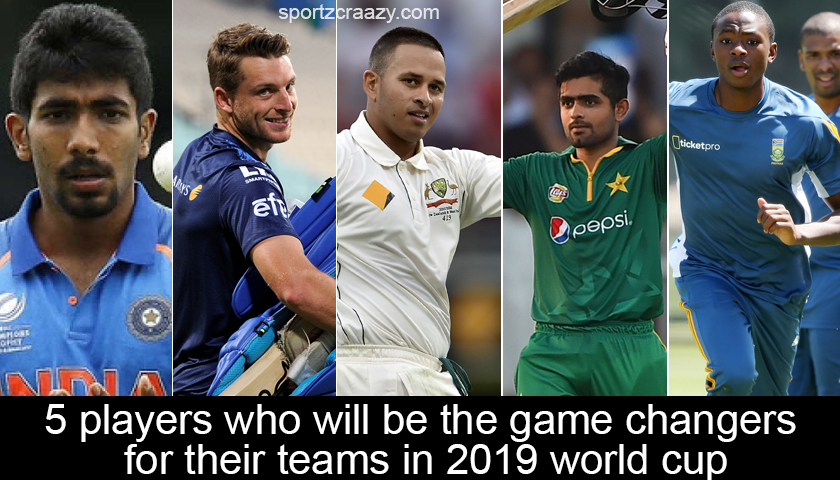 Game Changers in World Cup 2019