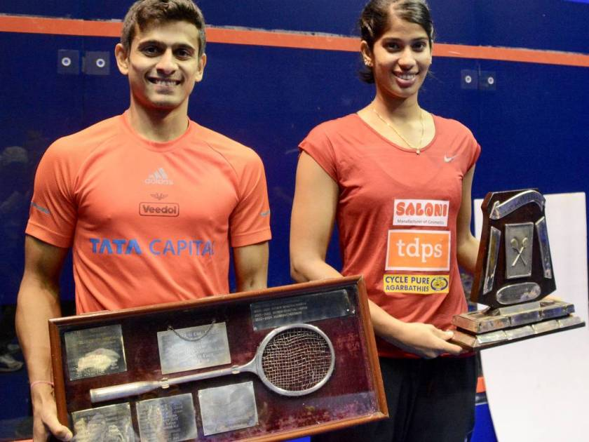 Saurav Ghosal Honoured