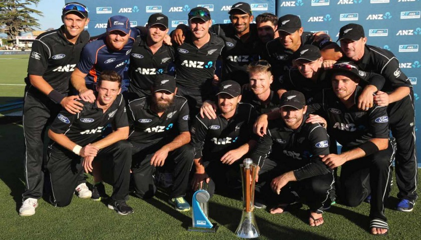 New Zealand's 15-man squad for the Cricket World Cup 2019