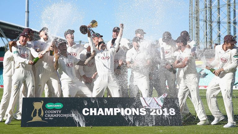 County Champions in England