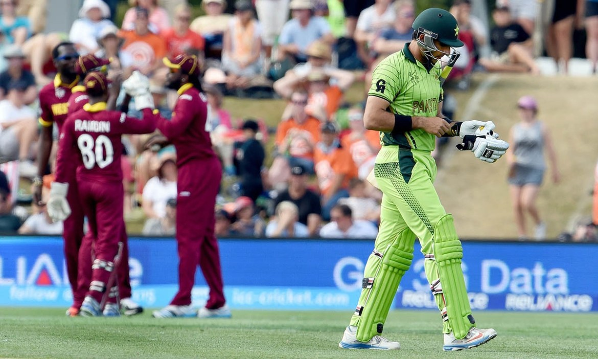 West Indies and Pakistan World Cup 2011 quarter-final