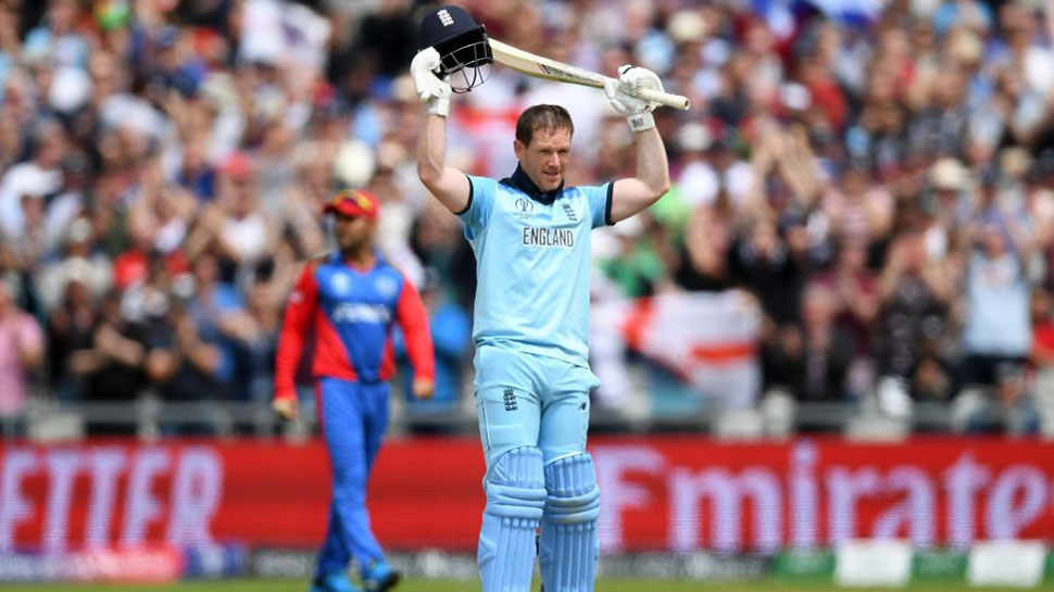 Eoin Morgan Becomes First to Hit 17 Sixes in an Innings