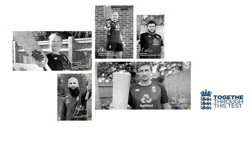 Raise the Bat: An ECB tribute to corona warriors