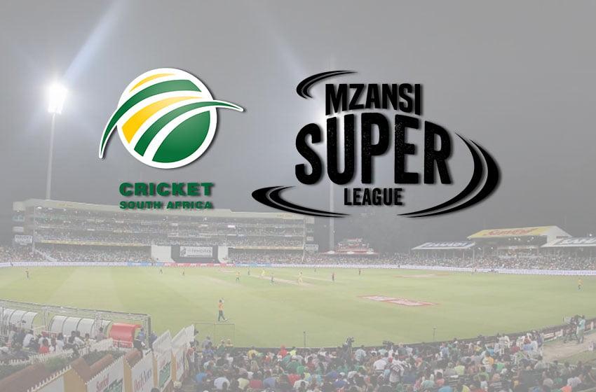 COVID-19:  Cricket South Africa postpones MSL 2020