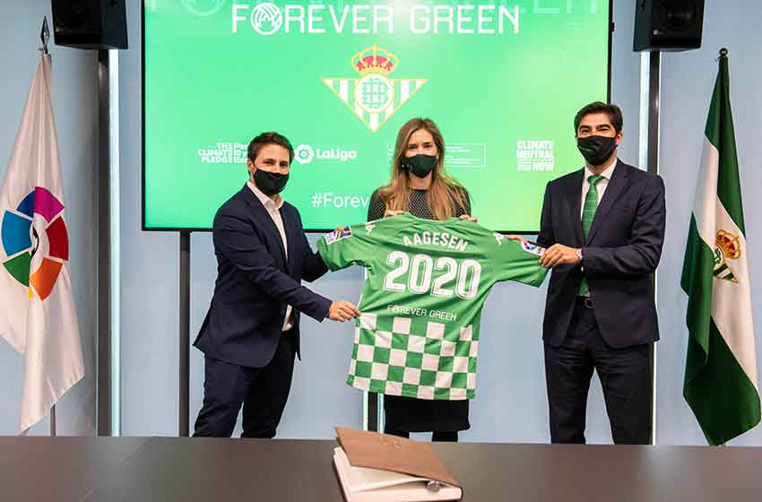 Real Betis launches sustainability platform for companies through football