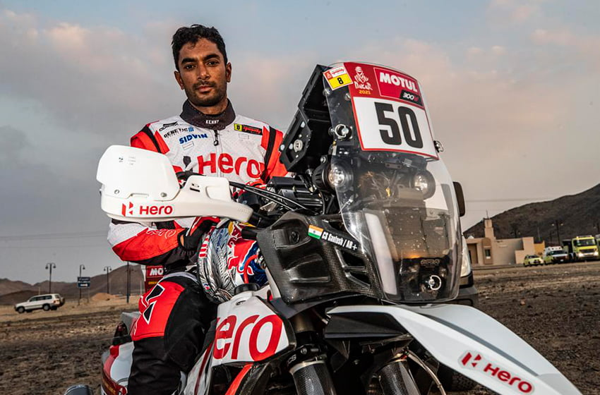Indian rider CS Santosh in medically-induced coma after suffering crash in Dakar Rally