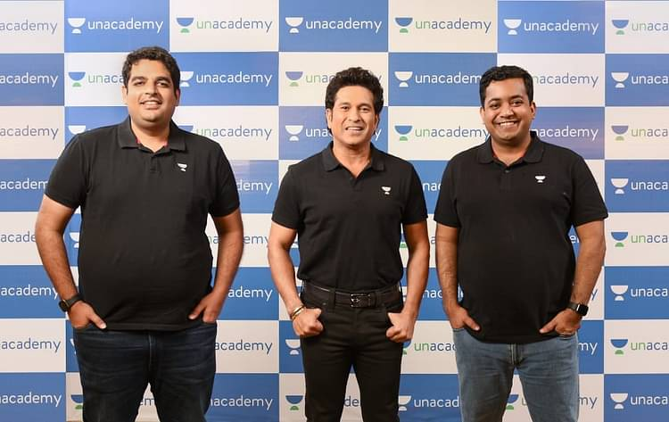 Sachin enters into a strategic partnership with Unacademy