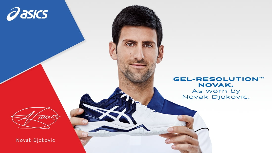 Djokovic, Asics extend footwear endorsement deal for another three years